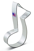 Music Note - Cookie Cutter