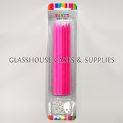 Dark and Light Pink Long Party Candles