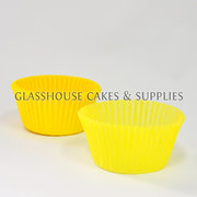 Bright Yellow Patty Cups