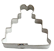 Mini Wedding Cake - Cookie Cutter