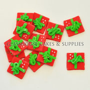 Gift Box Edible Icing Toppers