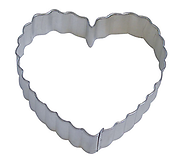 Scalloped Heart - Cookie Cutter