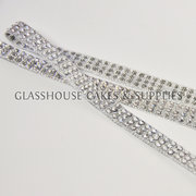 Silver Bling Ribbon