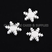 Snowflake Edible Icing Toppers