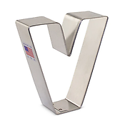 Letter 'V' - Cookie Cutter