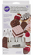 Wilton Mini Treat Piping Set - 12pc