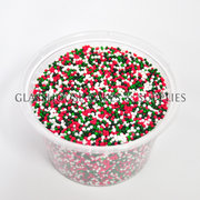 Red, White, and Green Non Pareils